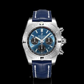 top quality Breitling Chronomat B01 Chronograph 44 Steel Blackeye Blue