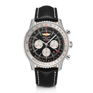 top quality Breitling Navitimer 1 B04 Chronograph GMT 48 Steel Black