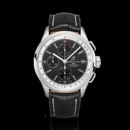 top quality Breitling Premier Chronograph 42 Steel Black