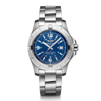 top swiss Breitling Colt Quartz Steel Mariner Blue