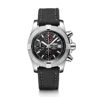 watches replica Breitling Avenger II Steel Volcano Black