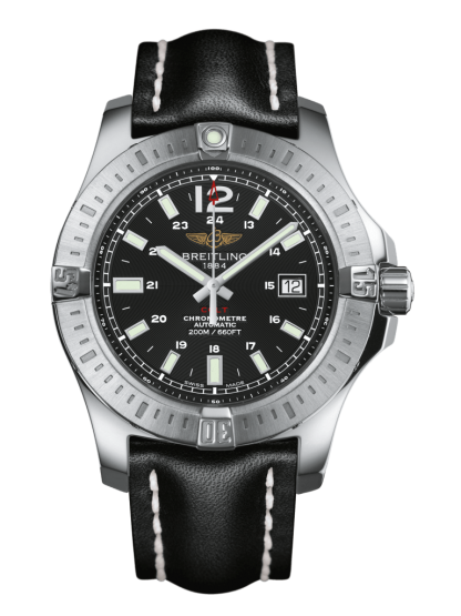watches replica Breitling Colt Automatic Steel Volcano Black