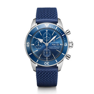 watches replica Breitling Superocean Héritage II Chronograph 44 Steel Blue