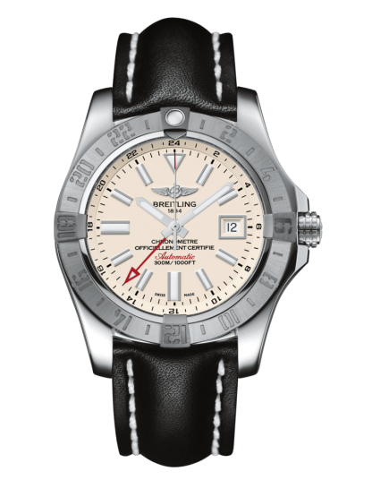wholesale Breitling Avenger II GMT Steel Silver
