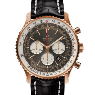 wholesale Breitling Navitimer 1 B01 Chronograph 46 Red gold Anthracite