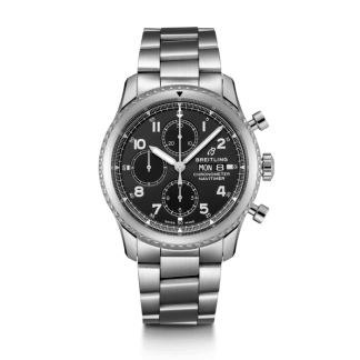 wholesale Breitling Navitimer 8 Chronograph 43 Steel Black