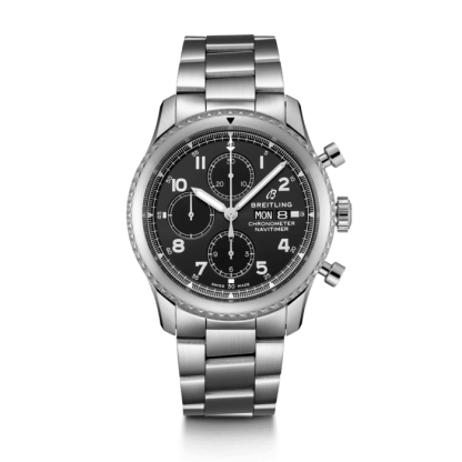 wholesale Breitling Navitimer 8 Chronograph 43 Steel Black